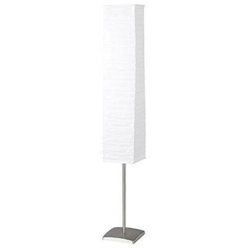 NERVA-Lampadaire Papier Plissé H146cm Blanc Brilliant