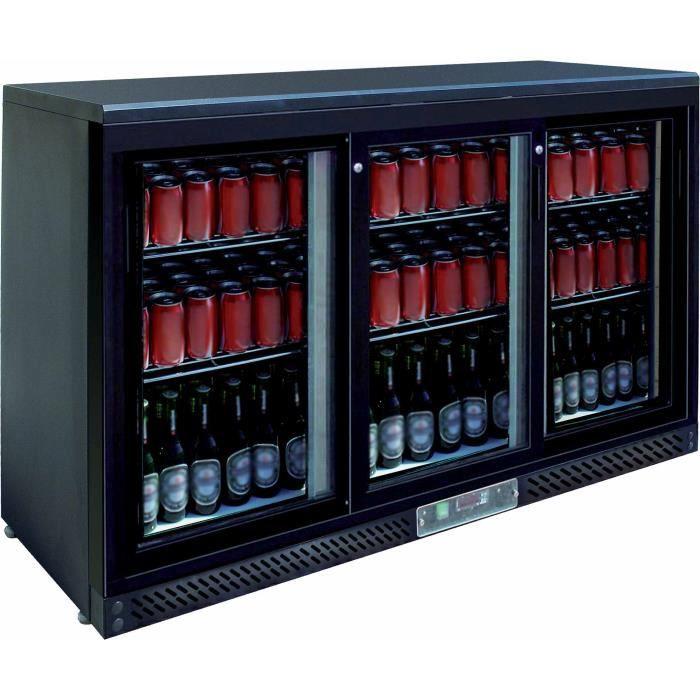 Arrière-bar 3 portes coulissantes 330 Litres