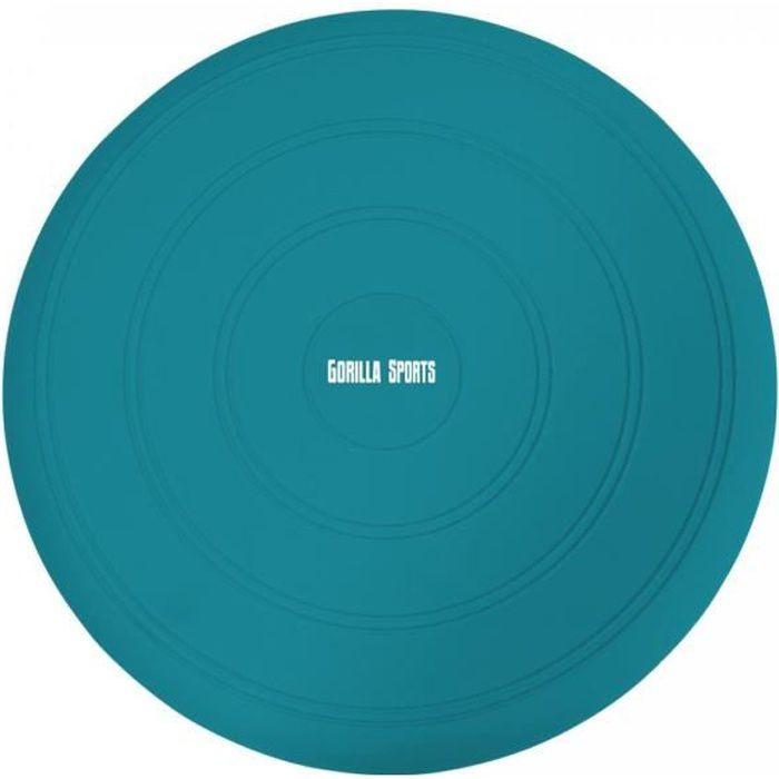 Coussin d'équilibre gonflable ∅ 33 cm - BLEU Turquoise