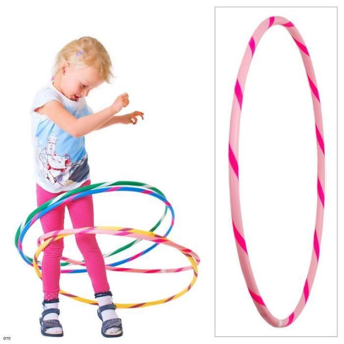 Colorful Enfants Hula Hoop pour les petits professionnels, Ø70cm Rose-Pink