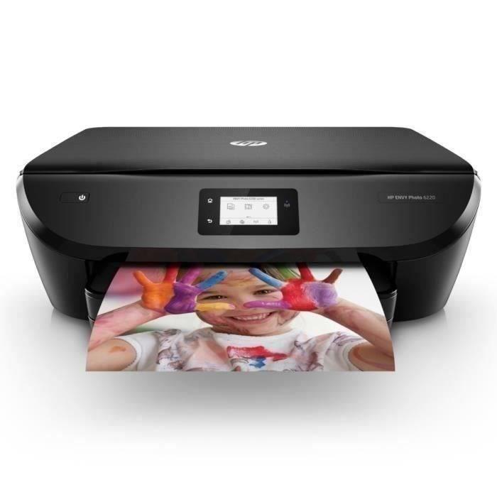 HP Imprimante Tout-en-un - Envy Photo 6220 - Éligible Instant Ink