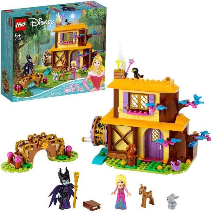 LEGO® Disney Princess™ 43188 Le chalet dans la forêt d'Aurore