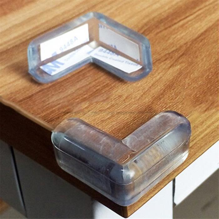 20pcs Silicone Transparent protège coin de table protections d'angles et rebords pour bébé enfant#22383