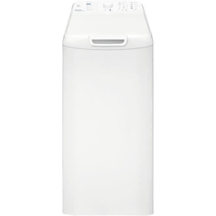 Lave-linge top VEDETTE VLT510W - 6,5 kg - 1100 tours/min - Blanc