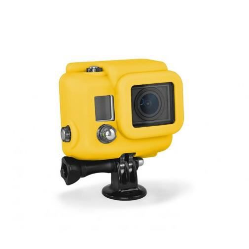 XSORIES Housse en Silicone pour GoPro HD HERO3 - Jaune