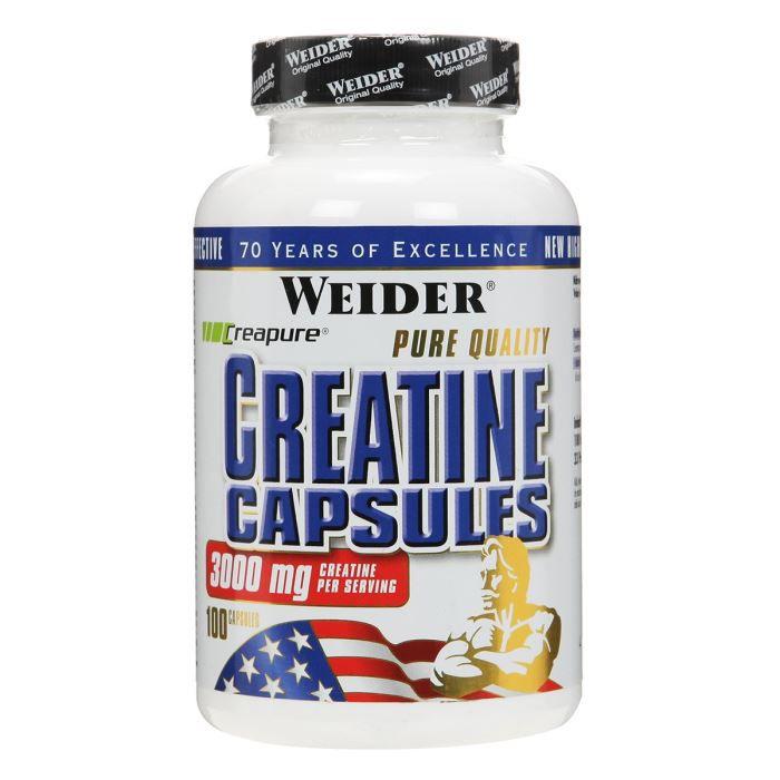 CRÉATINE PURE CREATINE 100 gélules NTT