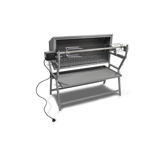 Barbecue grill pro tournebroche lateral achat vente barbecue barbecue grill pro tourne - Tourne broche barbecue ...