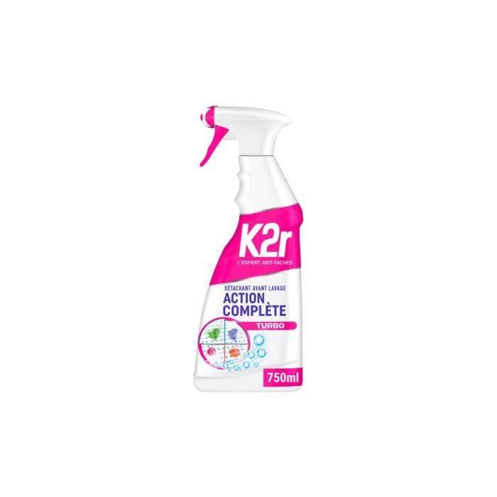 DÉTACHANT TEXTILE Détachant linge 750 ml K2R