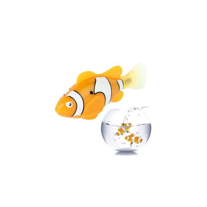 Poisson robot robot fish poisson clown achat vente for Poisson clown achat
