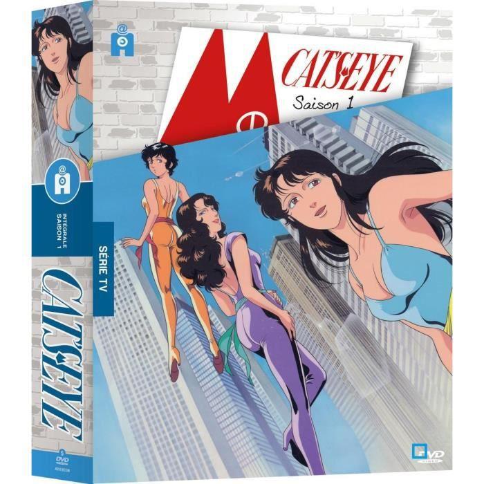 DVD MANGA Cat's Eye - Saison 1 - Coffret DVD