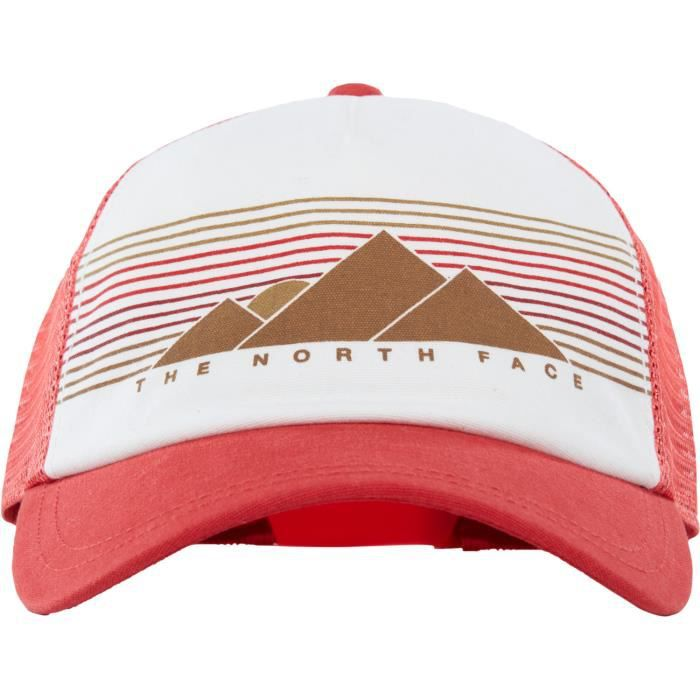 f049e0fc7 North Face Lo Pro Trucker Womens Cap Rouge Rouge - Achat / Vente ...