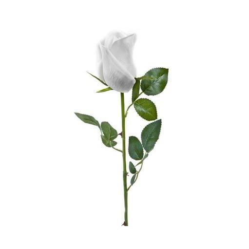 Velours Rose Fleur Artificielle hat box toute couleur argent base Rose Blanc