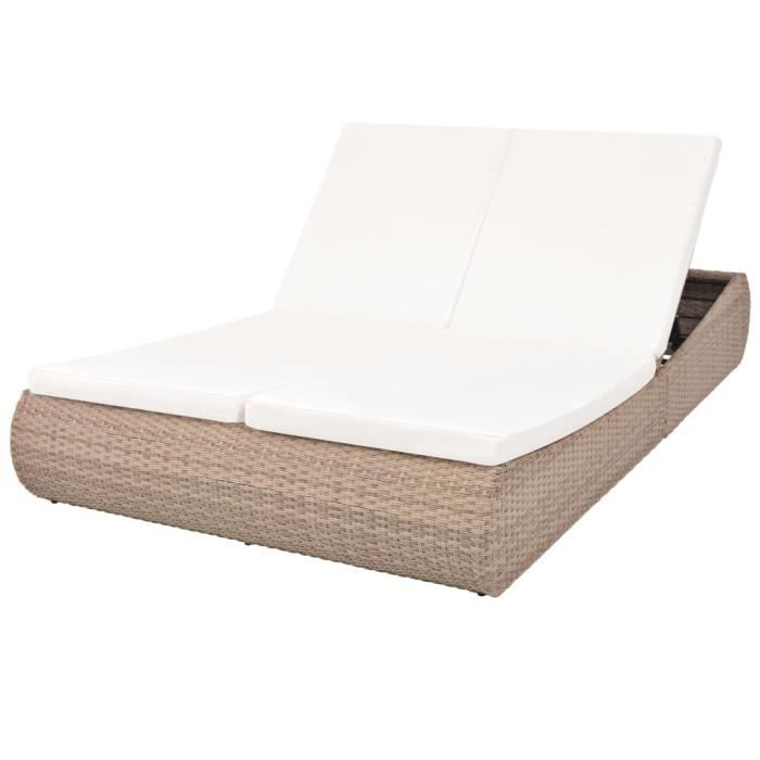 1 X large fauteuil chaise de jardin Coussin Pad Coussin pour s/'adapter Jardin Patio Chaise Longue