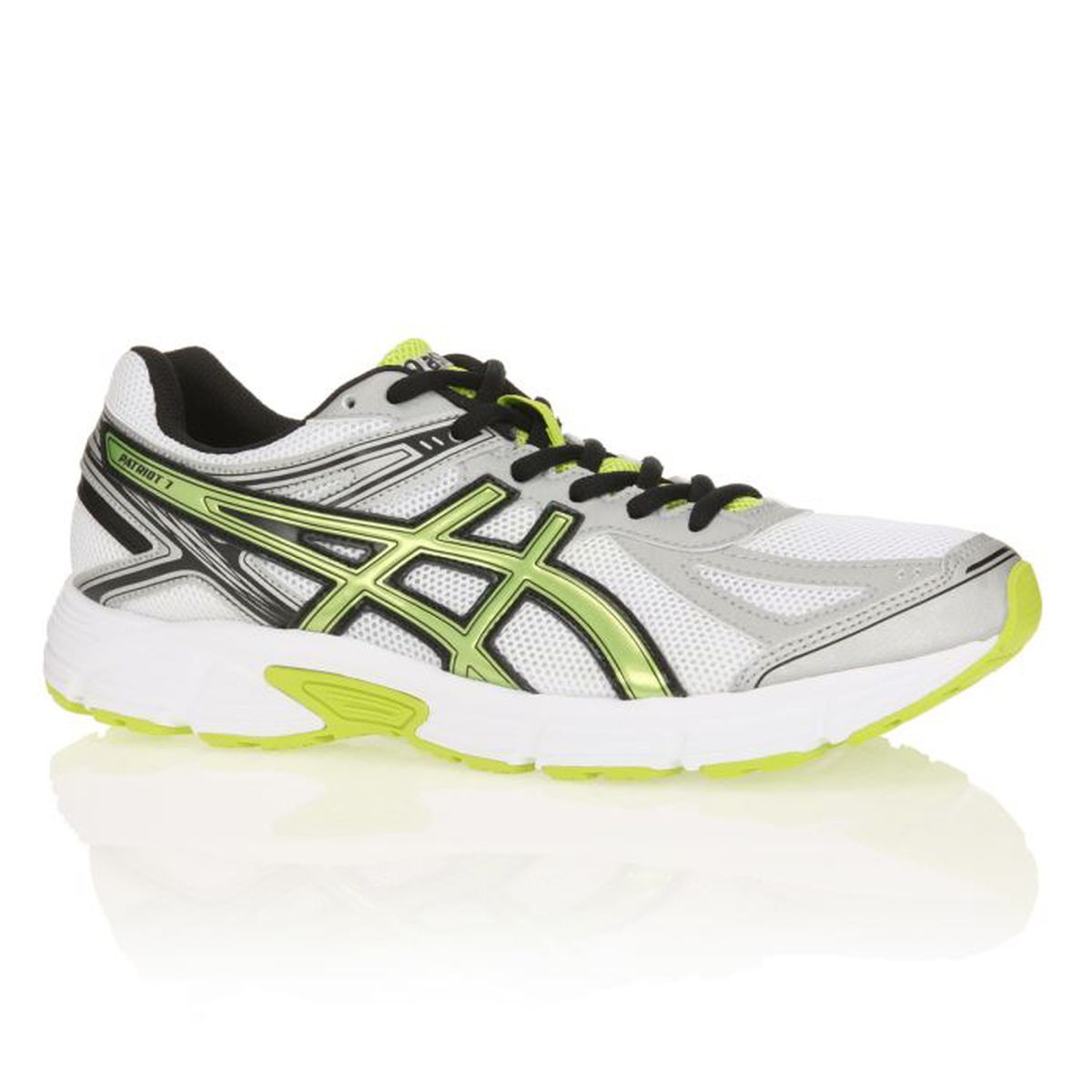 asics chaussures de running patriot 7 homme prix pas cher cdiscount. Black Bedroom Furniture Sets. Home Design Ideas