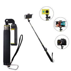 PERCHE - CANNE SELFIE 3 dans une perche à selfie Stativ Bluetooth selfie
