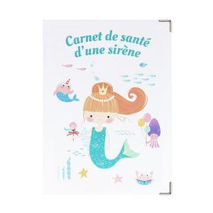 Simbaru /Étui de protection pour carnet de maternit/é en li/ège Beige
