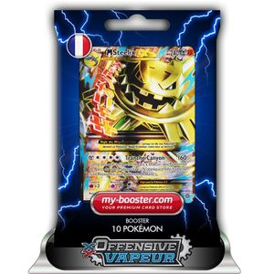 CARTE A COLLECTIONNER MEGA M STEELIX EX FULL ART 109-114 240PV XY11 OFFE