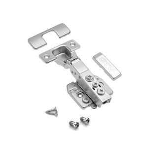 Porte de cuisine//Armoire//Placard clip on dissimulée 35 mm Charnières de porte médaillon