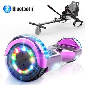 ACCESSOIRES GYROPODE - HOVERBOARD Pack Hoverkart Noir+MegaMotion Scooter 2 Roues Vio