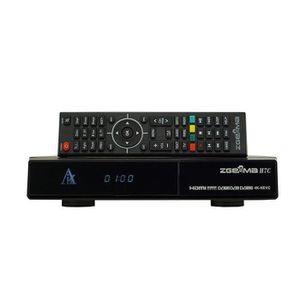 RÉCEPTEUR - DÉCODEUR   4K UHD Zgemma H7C DVB-S2X + 2 * DVB-T2 - C Récepte