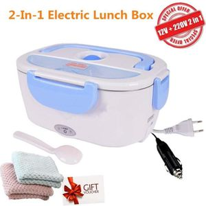 LUNCH BOX - BENTO  Boîte Chauffante Lunch Box Électrique - 2 en 1 pou