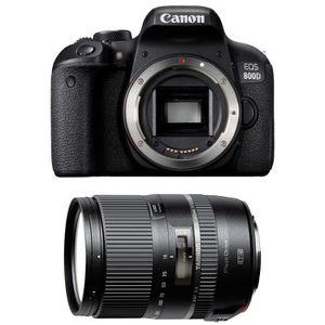 APPAREIL PHOTO RÉFLEX CANON EOS 800D + TAMRON 16-300mm F/3.5-6.3 Di II V