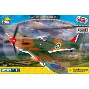 ASSEMBLAGE CONSTRUCTION Hurricane Mk I Hawker Cobi