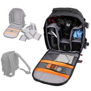 SAC PHOTO Sac à dos durable pour appareil SLR/Bridge/Reflex