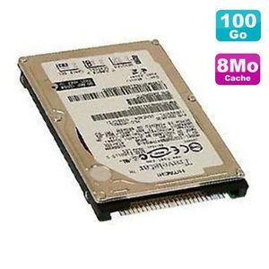 DISQUE DUR INTERNE Disque Dur PC Portable 100Go IDE 2.5