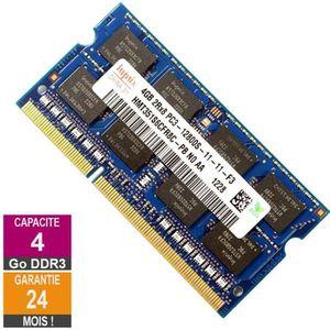 MÉMOIRE RAM Barrette Mémoire 4Go RAM DDR3 Hynix HMT351S6CFR8C-