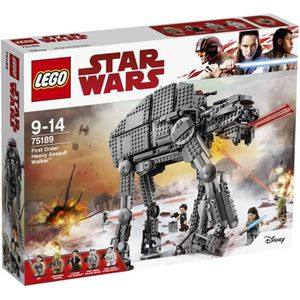 ASSEMBLAGE CONSTRUCTION LEGO® Star Wars 75189 First Order Heavy Assault Wa