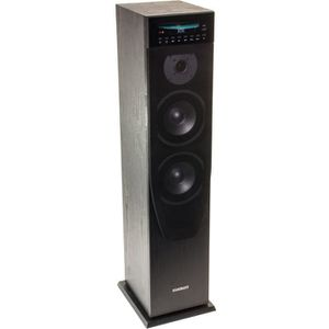 CHAINE HI-FI MADISON CENTER200CD-BK Tour de Son Bluetooth - Lec