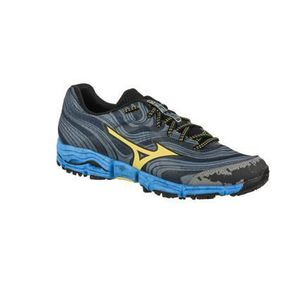 the best attitude 89fa9 cb5e1 CHAUSSURES DE RUNNING Mizuno Wave Kazan Femme gunmetal yellcream blue