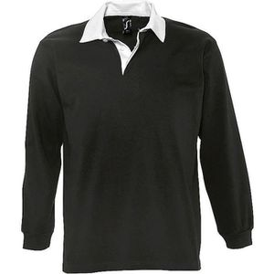 POLO Polo rugby manches longues HOMME - 11313 - noir