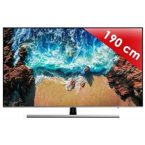 Téléviseur LED TV LED plus de 52 pouces SAMSUNG - UE 75 NU 8005 •