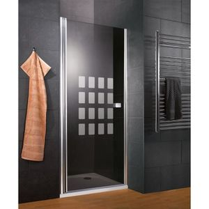 2 parois lat/érales Cabine de douche en forme U 160x90x90x190cm une porte de douche coulissante