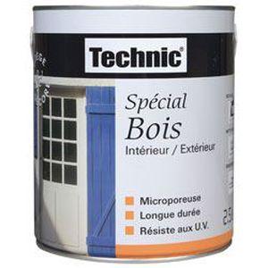 Technic Peint Bois 2 5l Bleu Lavande Achat Vente