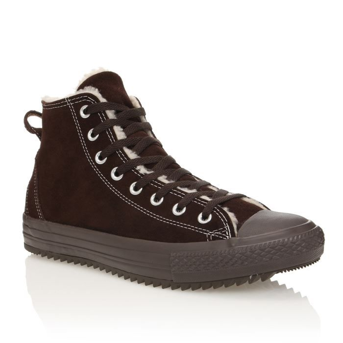 CONVERSE Fourrées Chuck Taylor All Star Hollis Marron