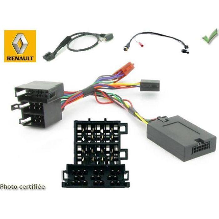 Interface Cde au Volant Renault ap00 ISO Alpine - ADNAuto - ADN-CAV
