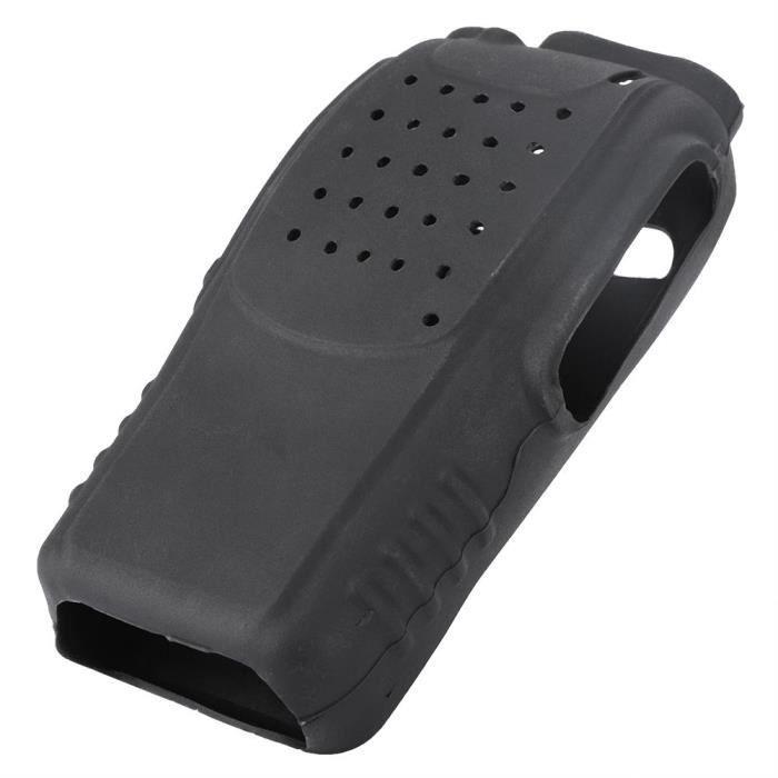 2pcs étui de protection en étui radio bidirectionnel en silicone souple pour talkie-walkie Baofeng BF888s-LAT