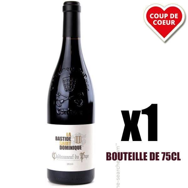 X1 Châteauneuf du Pape Les Hesperides 2012 75 cl La Bastide Saint-Dominique AOC Châteauneuf du Pape Vin Rouge
