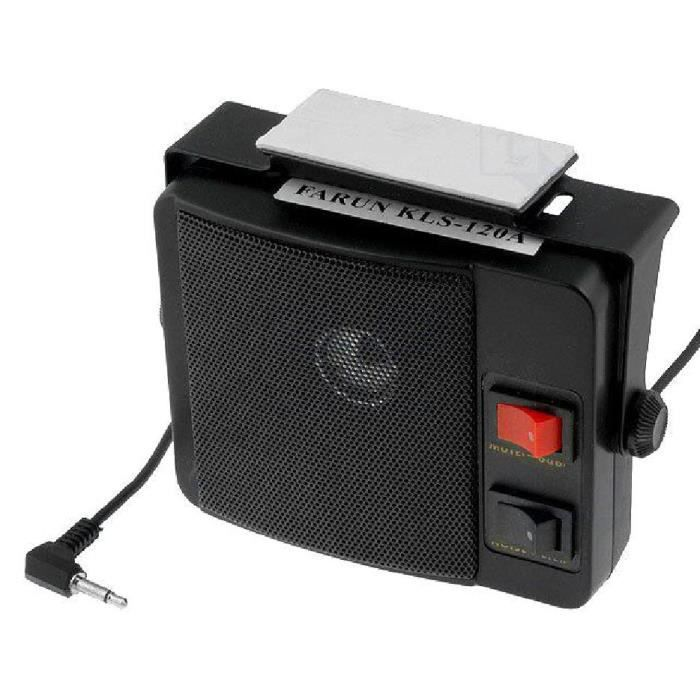 Haut-parleur pour CB 125x106x39mm