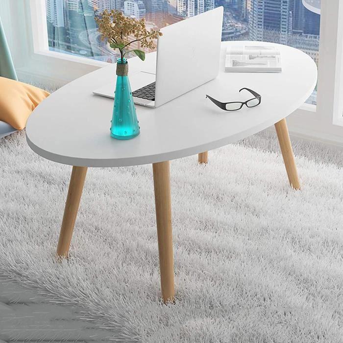 Nordic Maison Petit Appartement Canapé Table D'appoint, Salon À La Maison Petite Table Ronde Étude Créative Table Basse Chambr[296]