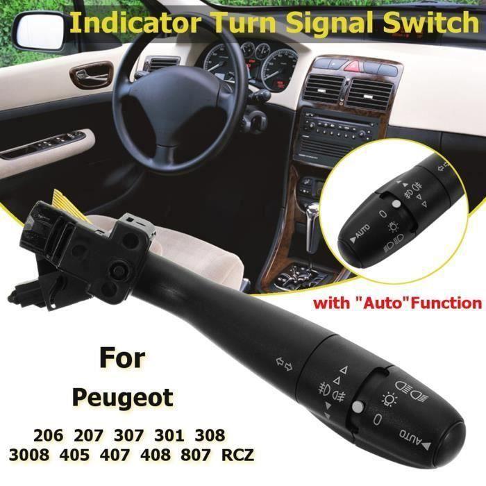 BO INTERRUPTEUR DE CLIGNOTANT INDICATEUR Pour Peugeot 307 301 308 206 207 405 407 408