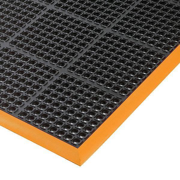 Tapis anti-fatigue - surface perforée L x l 1630 x 970 mm - revêtement de sol revêtements de sol tapis tapis de sol tapis industriel