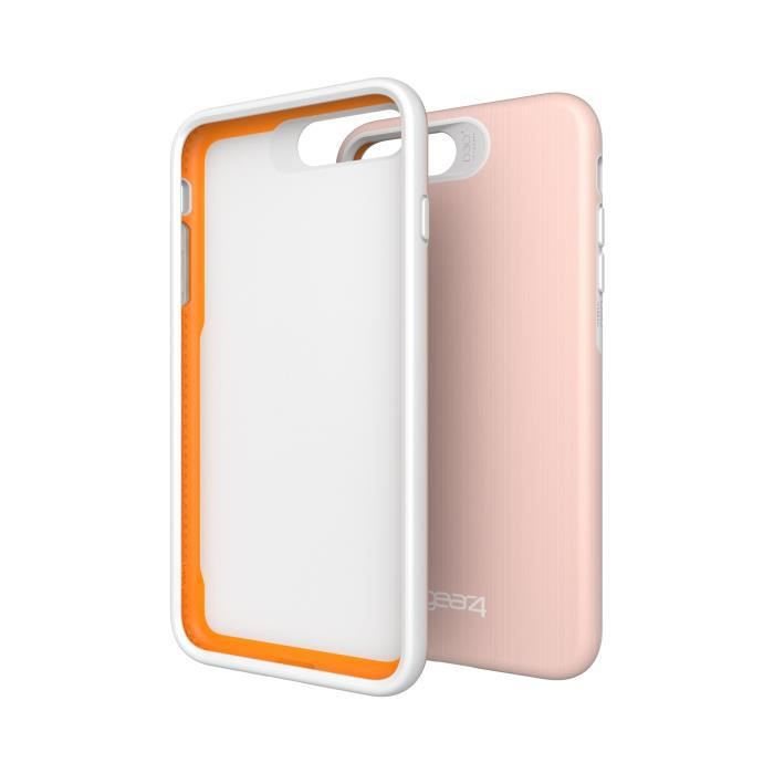 GEAR4 D3O Trafalgar Coque - iPhone 7 Plus - Or rose