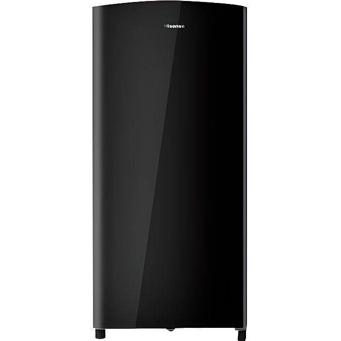 Hisense RR195D4DB1 Réfrigérateur pose libre largeur : 51.9 cm profondeur : 53.6 cm hauteur : 113 cm 150 litres classe A+ noir