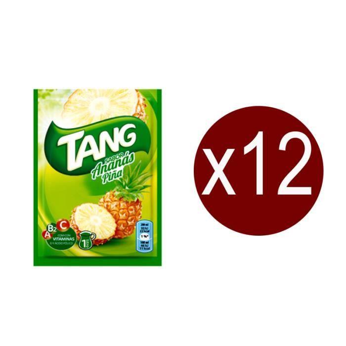 12 sachets Tang Ananas.Boisson en poudre.