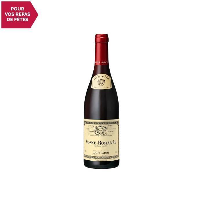 Vosne-Romanée Rouge 2016 - 75cl - Louis Jadot - Vin AOC Rouge de Bourgogne - Cépage Pinot Noir
