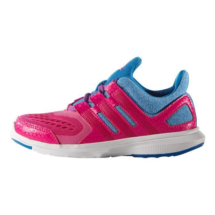 Chaussures vélo adidas Hyperfasté 2.0 junior rose bleu enfant 211635,